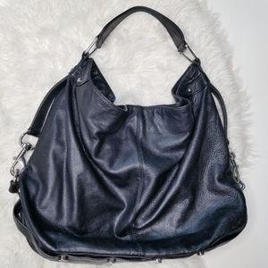 Rebecca minkoff leather boho shoulderbag purse